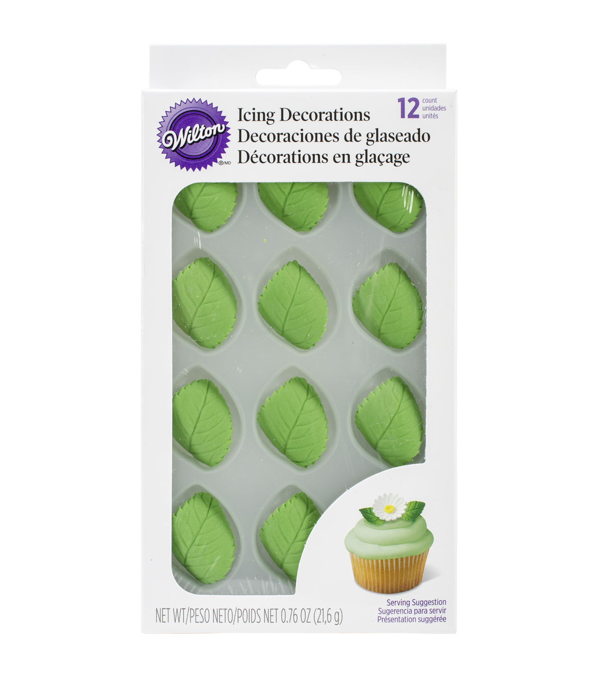 Wilton® Leaves Royal Icing Decs
