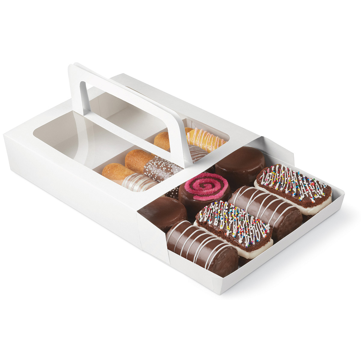 Treat Box With Handle 3ct