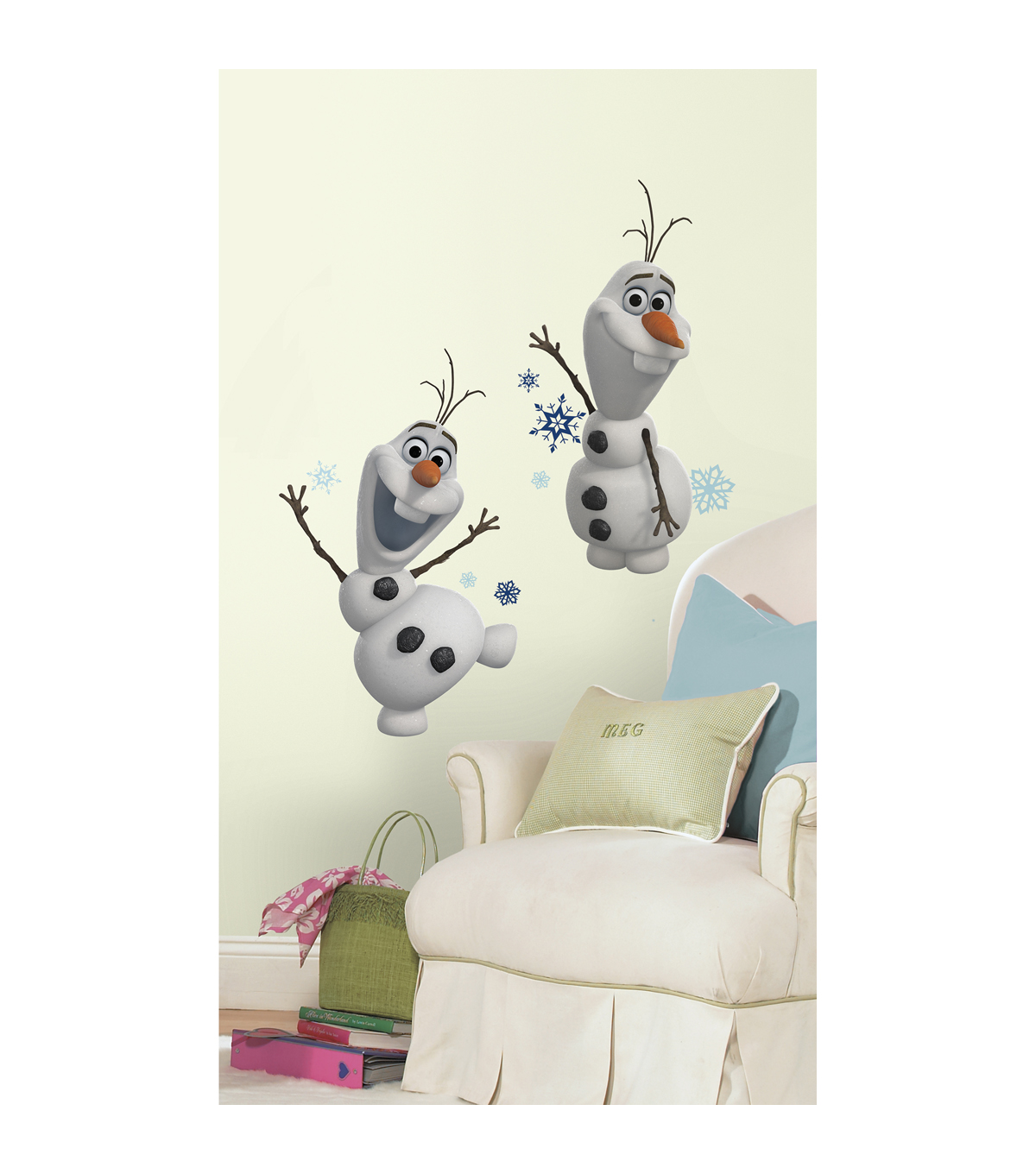 Frozen Olaf Peel & Stick Wall Decals 25 Pack
