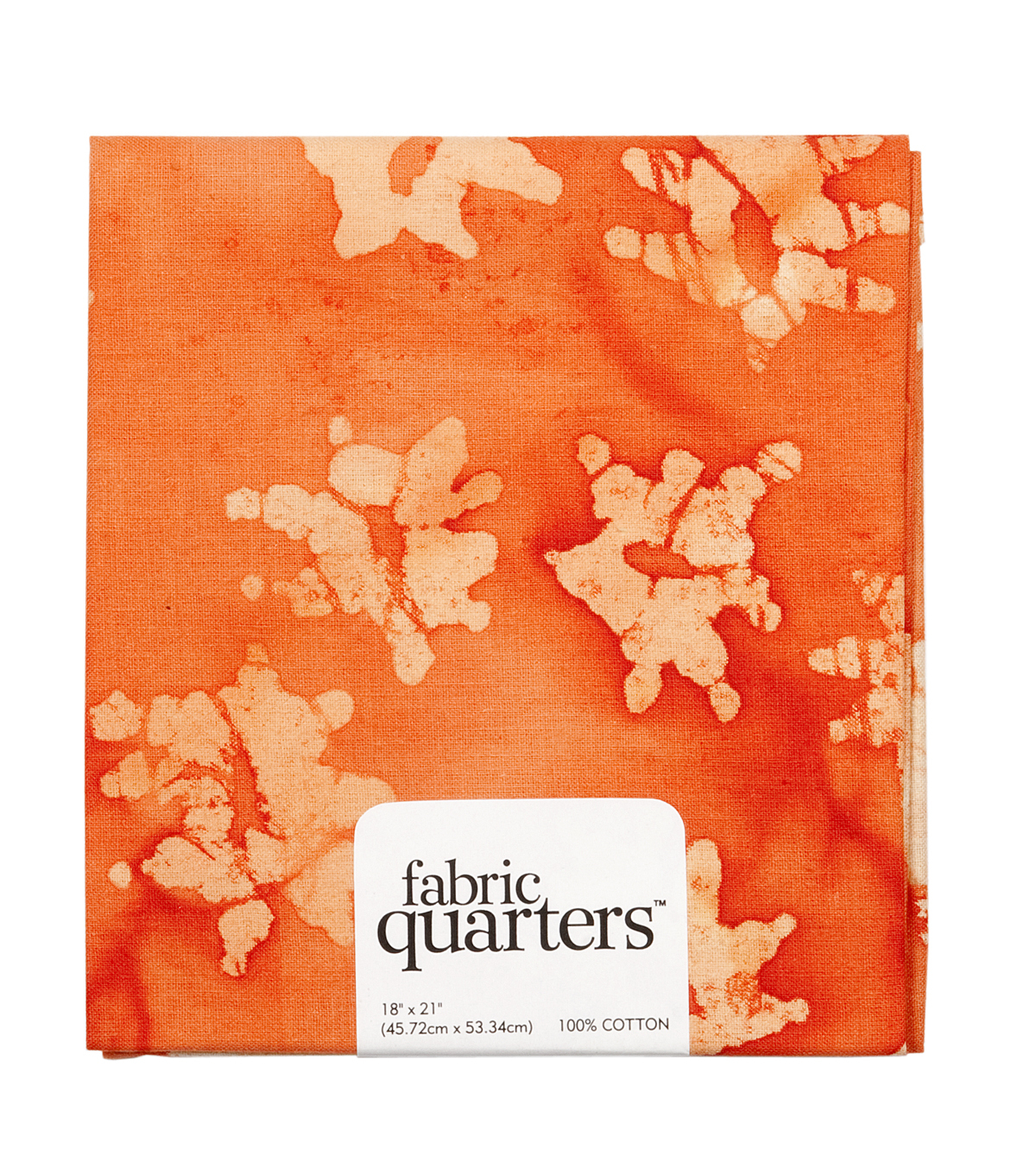 Fabric Quarters Cotton Fabric 18\u0022-Orange