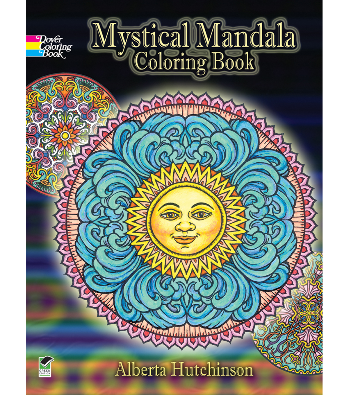 Adult Coloring Book Dover Publications Mystical Mandala