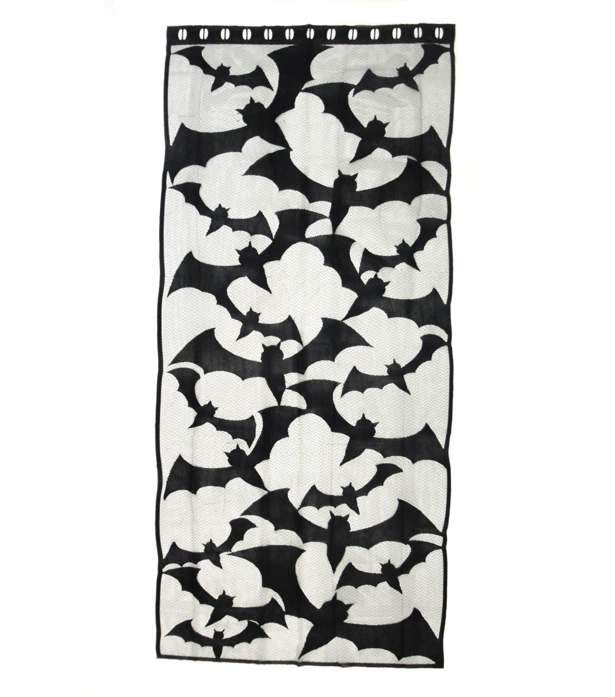 Maker's Halloween 36''x80'' Window or Door Panel-Black Bats