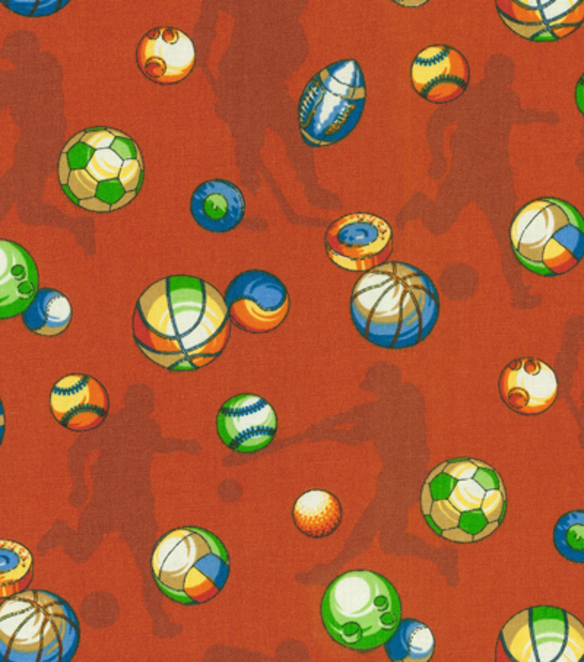 Covington Print Fabric 54\u0022-Play Ball