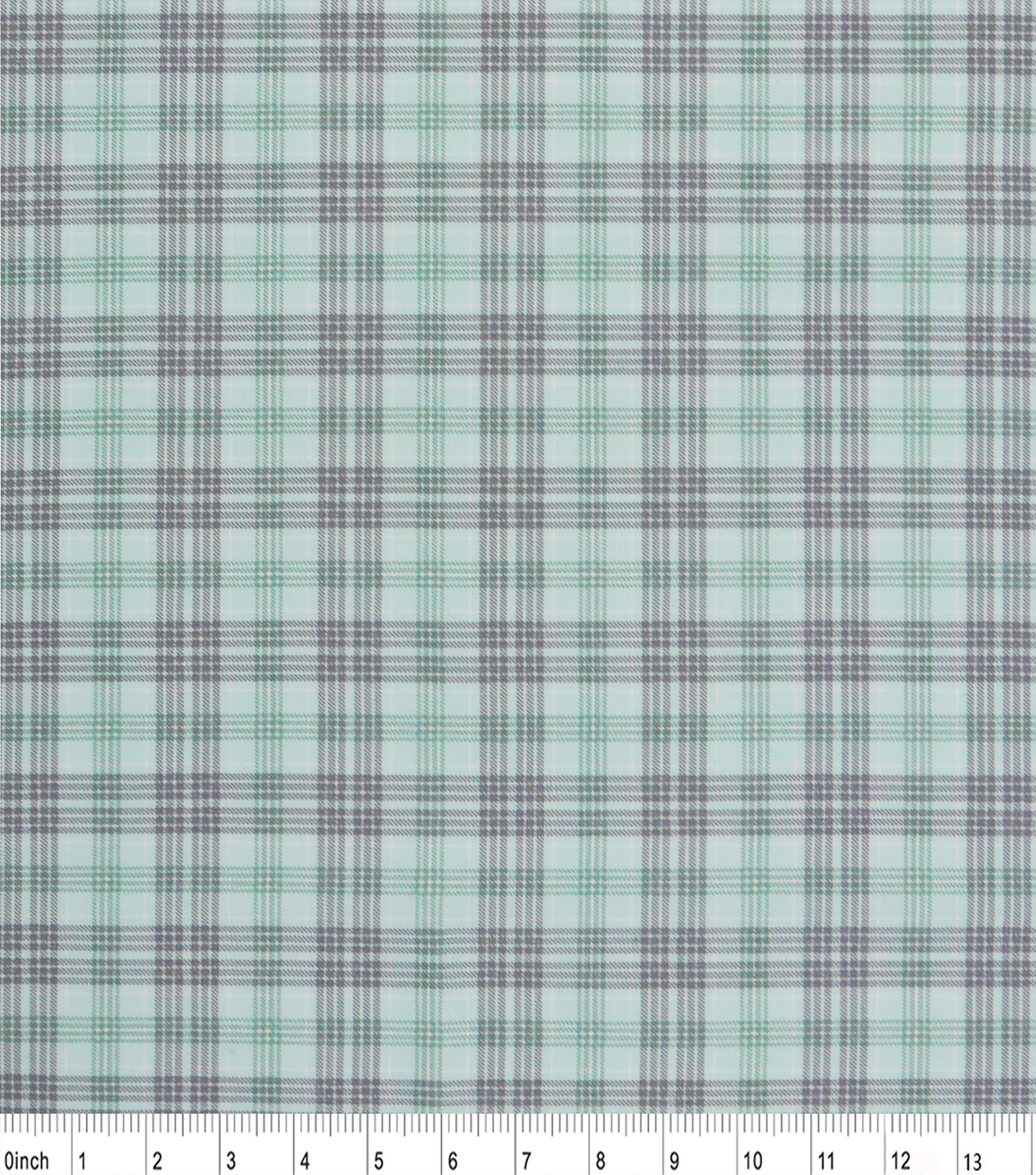 Nursery Cotton Fabric 43\u0022-Haydegreeplaid