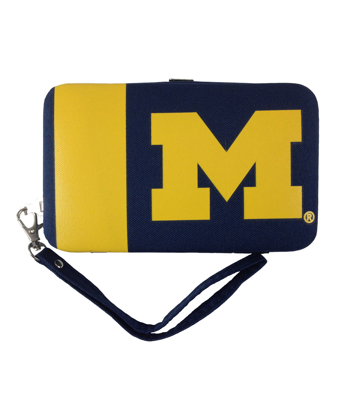University of Michigan Wolverines Shell Wristlet
