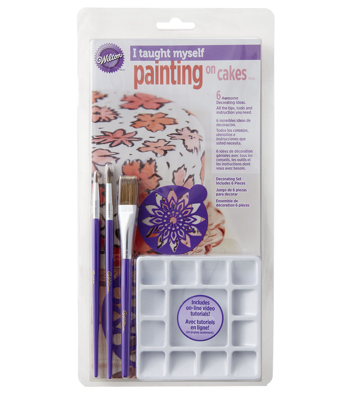 Wilton® I Taught Myself Painting On Cakes Decorating Book Set
