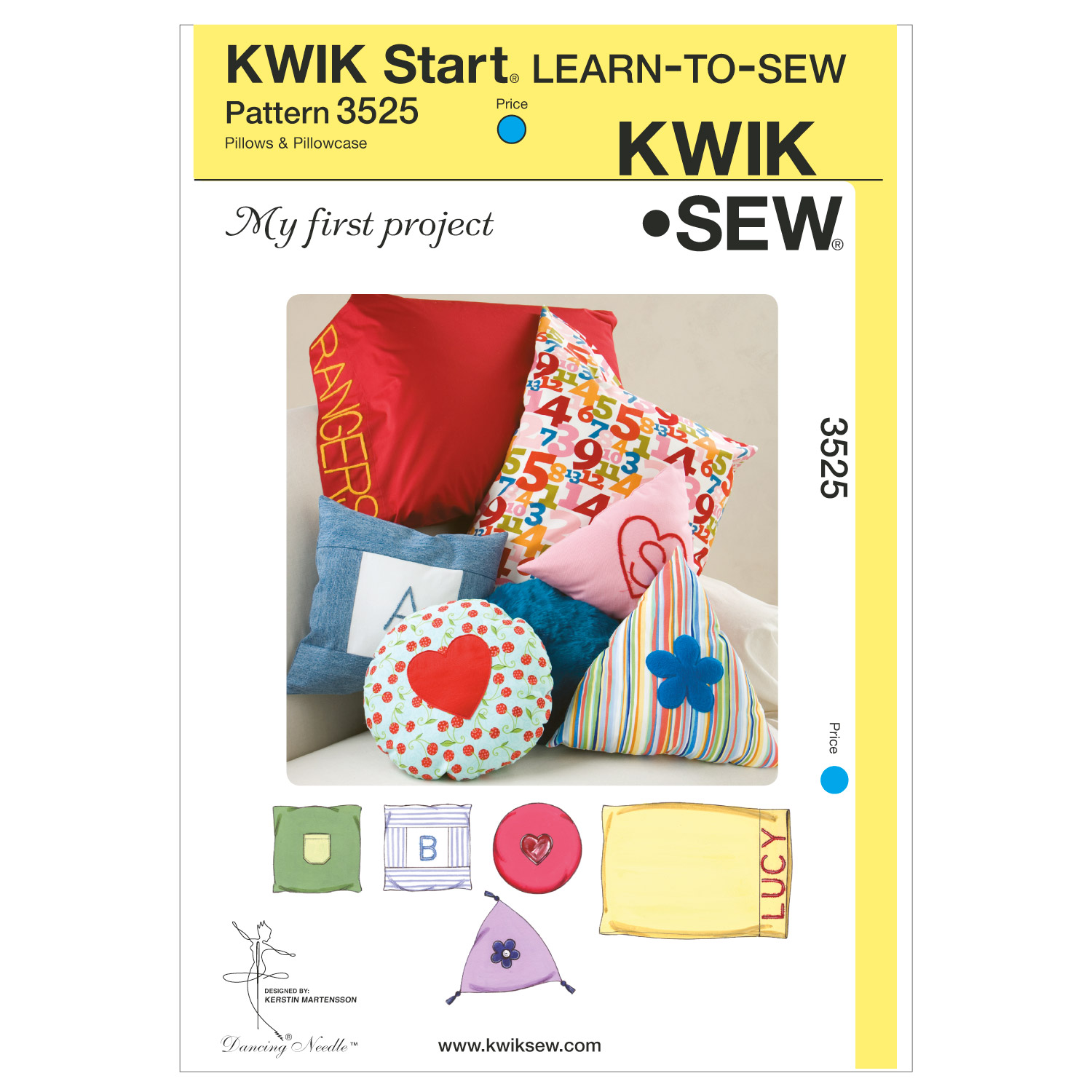 Kwik Sew Crafts Home Accessory-K3525