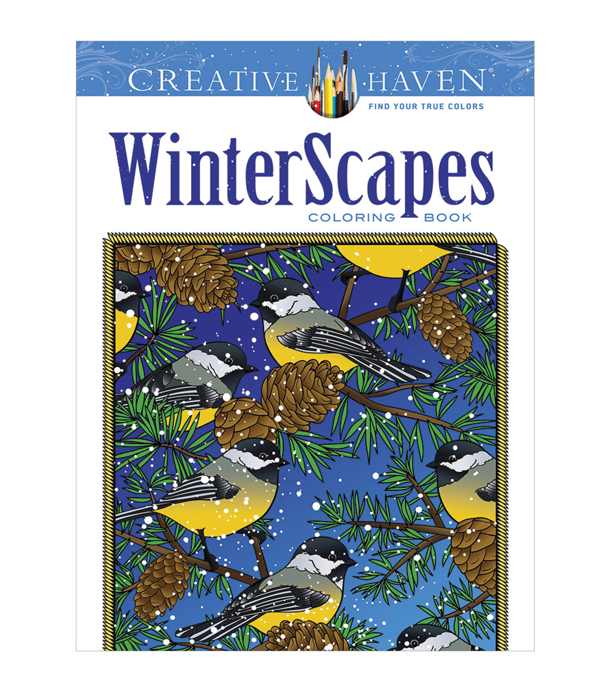 Dover Creative Haven WinterScapes Coloring Book