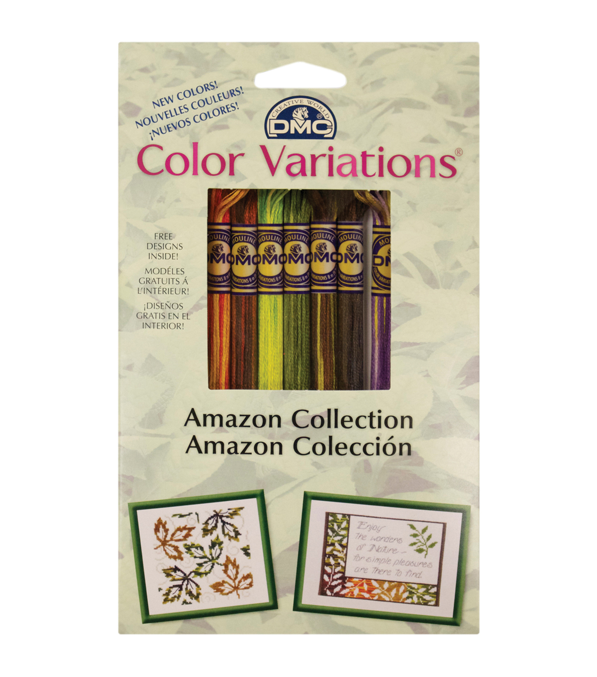 DMC Color Variations Floss Pack- Amazon 8/Pkg