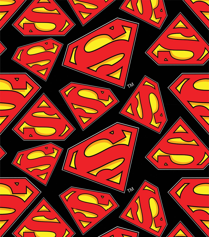 Superman All Over Fleece Fabric | JOANN