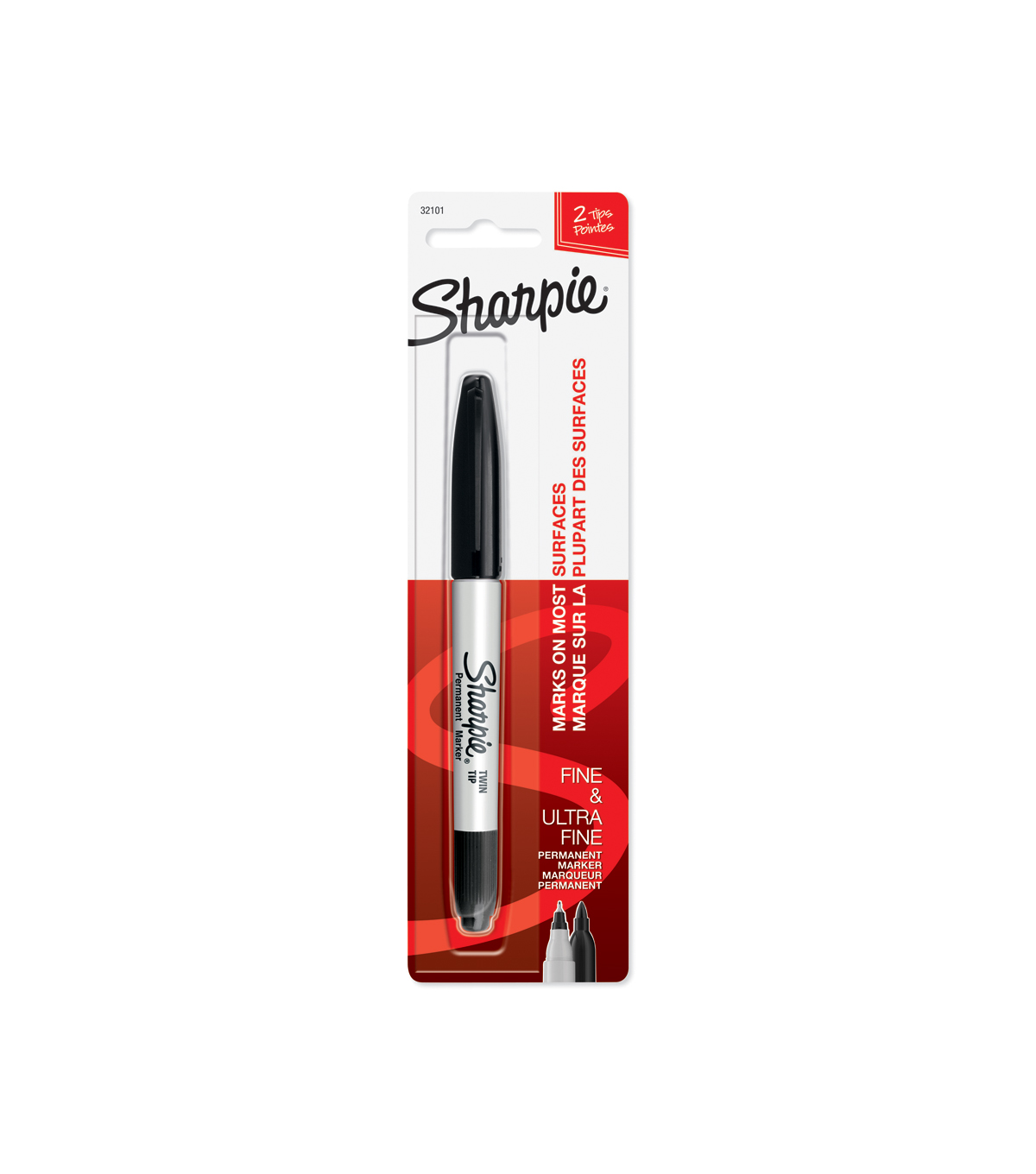 Sharpie Permanent Marker Twin Tip-Ultra Fine/Fine