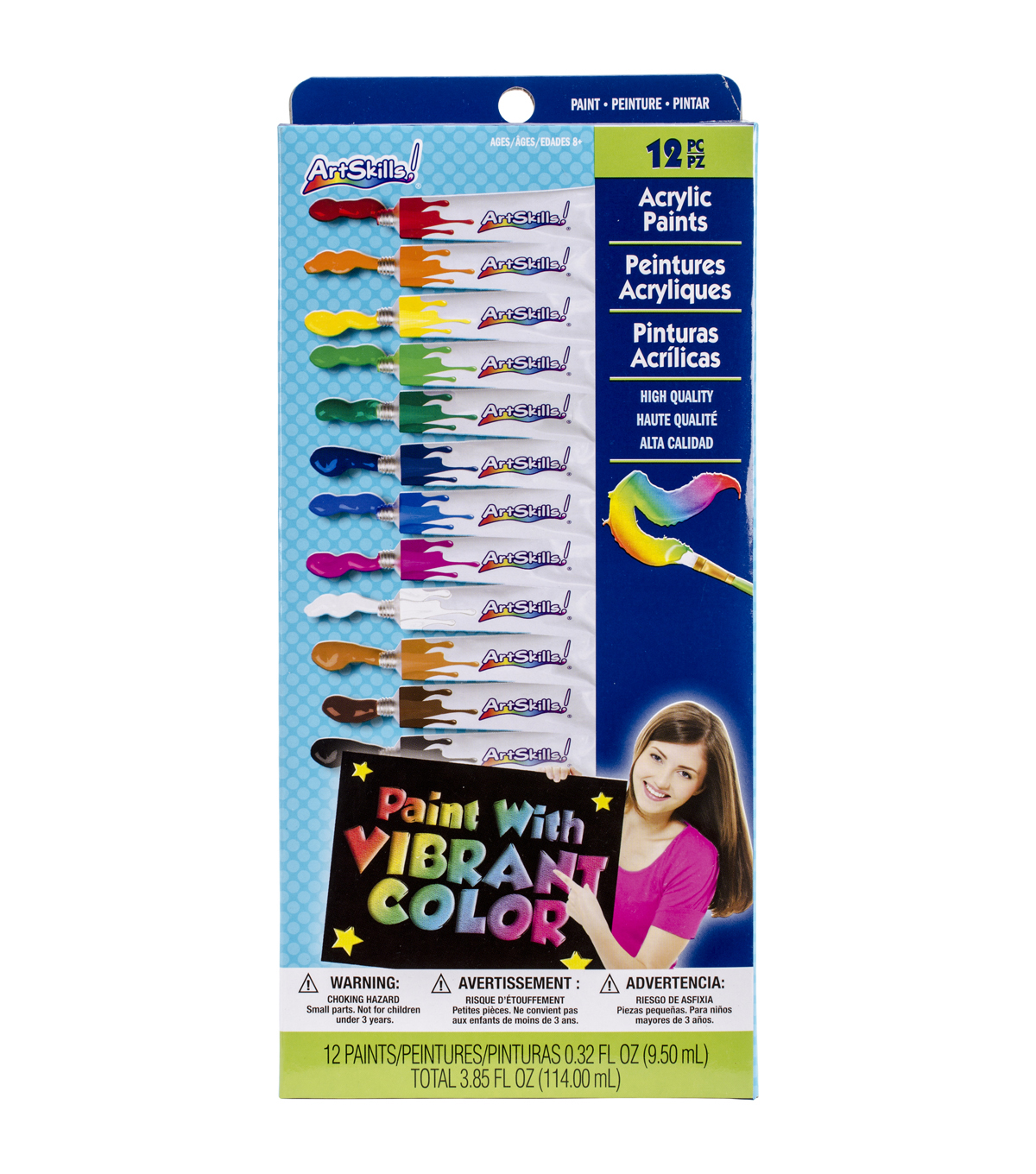 Artskills® 12pcs Acrylic Paints