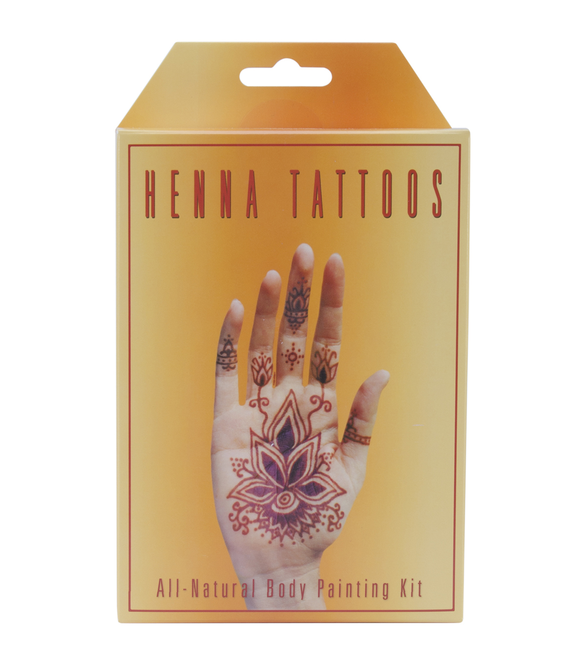 Earth Henna Body Painting Kit