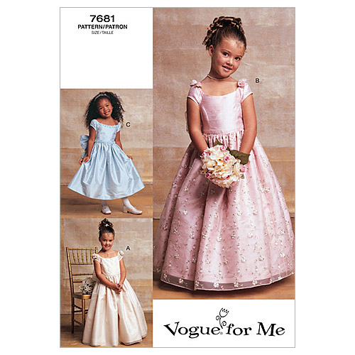 Vogue Patterns Child Special Occasion-V7681