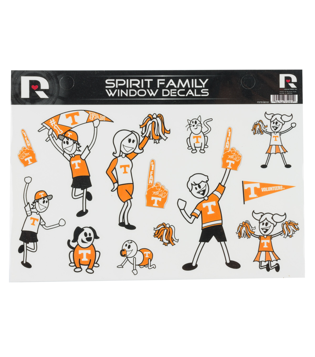 University of Tennessee Volunteers Family Cling