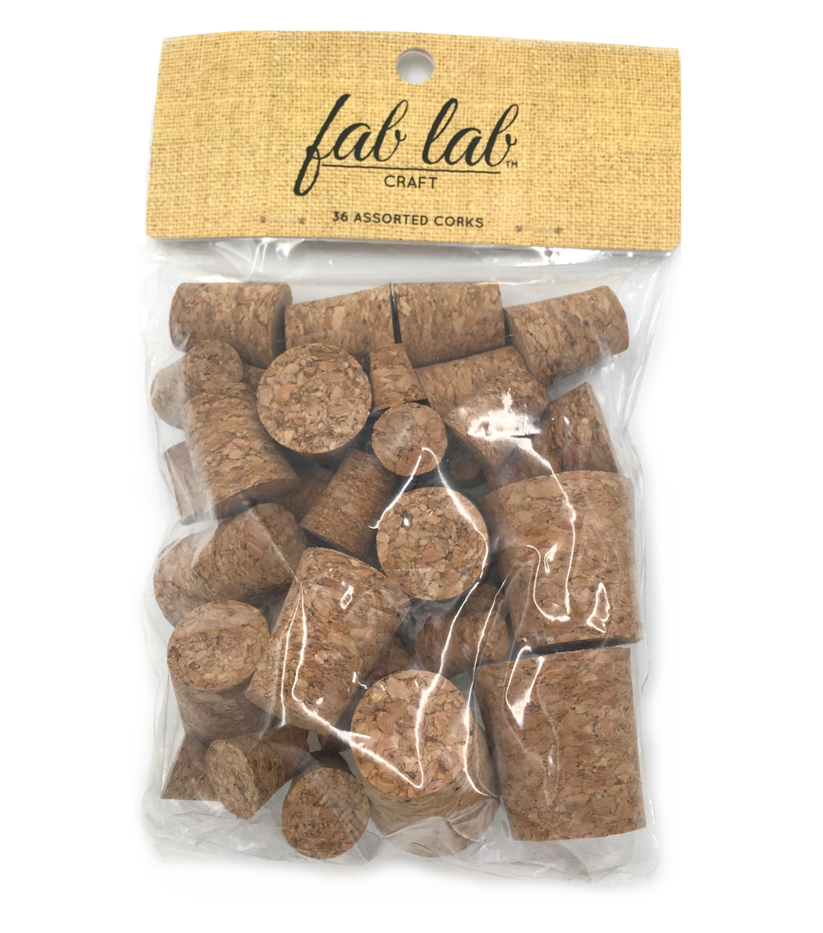 Cork Collection Stoppers-Assorted 36/Pkg
