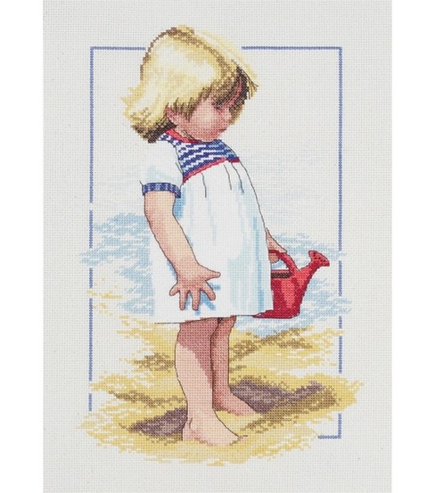 Janlynn Summer Afternoon Counted Cross Stitch Kit