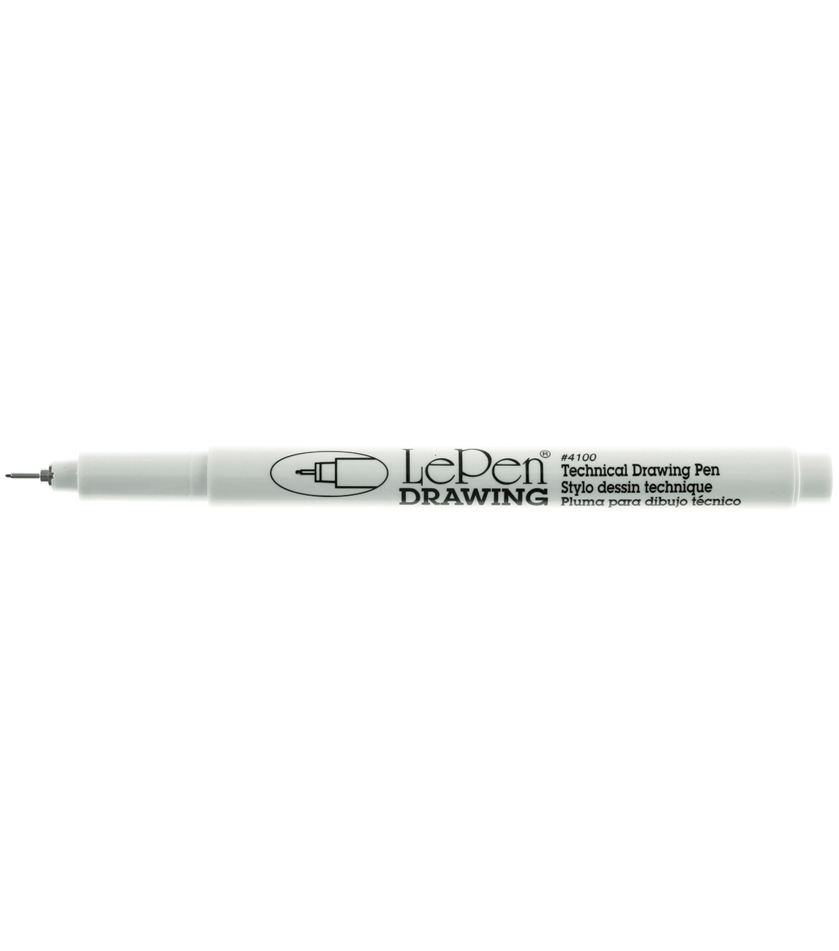 Le Pen Technical Drawing Pen Open Stock-0.3mm Black