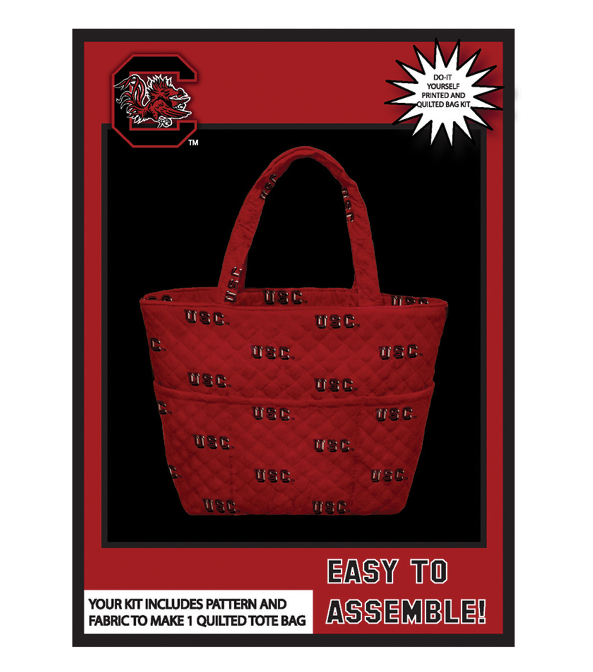 University of South Carolina Gamecocks Tote Kit
