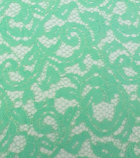 "Casa Collection™ Lace Fabric 55""-Floral Scroll Brook"