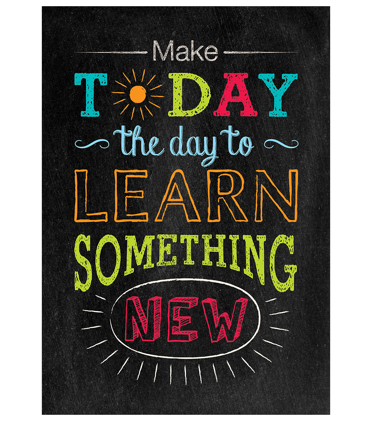 Make Today the Day to…Inspire U Poster