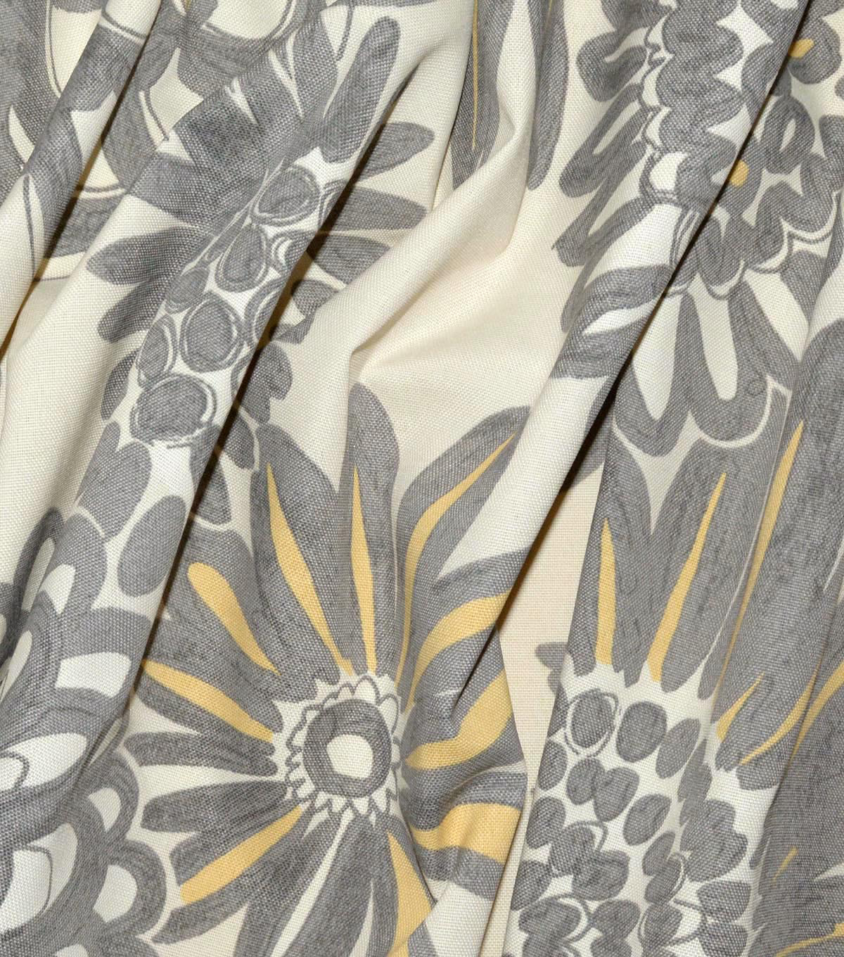Genevieve Gorder Outdoor Print Fabric 54\u0027\u0027-Cloud Flower Pops