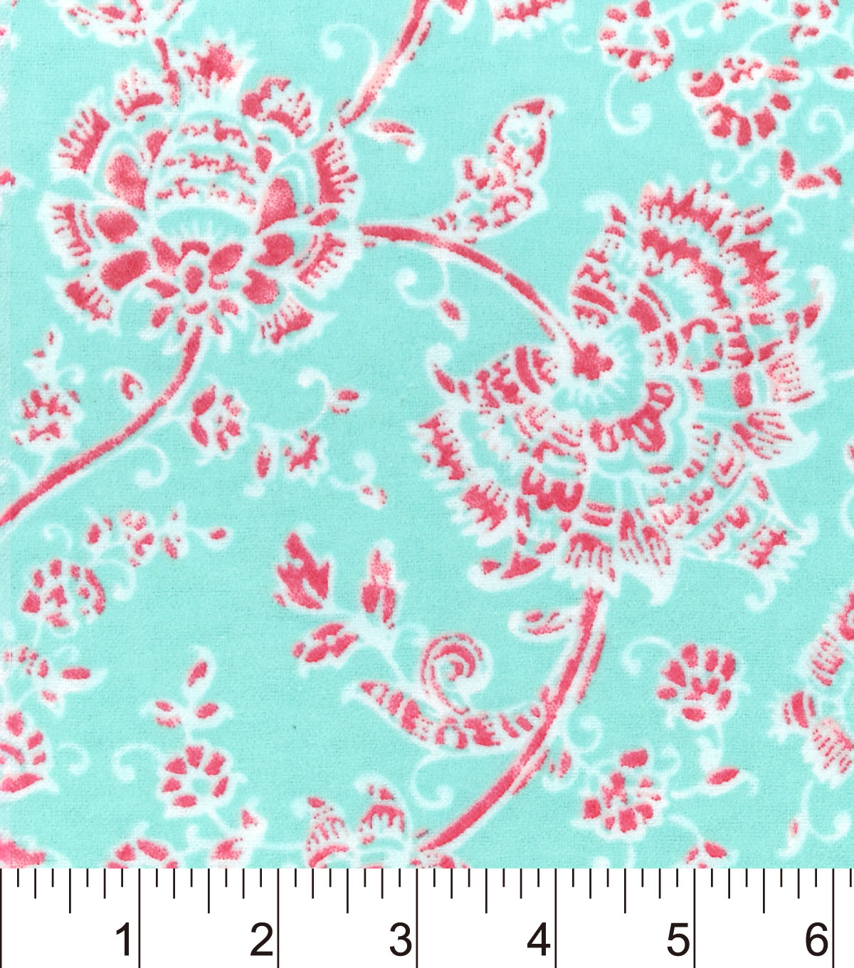 "Snuggle Flannel Fabric 42""-Ava Floral"