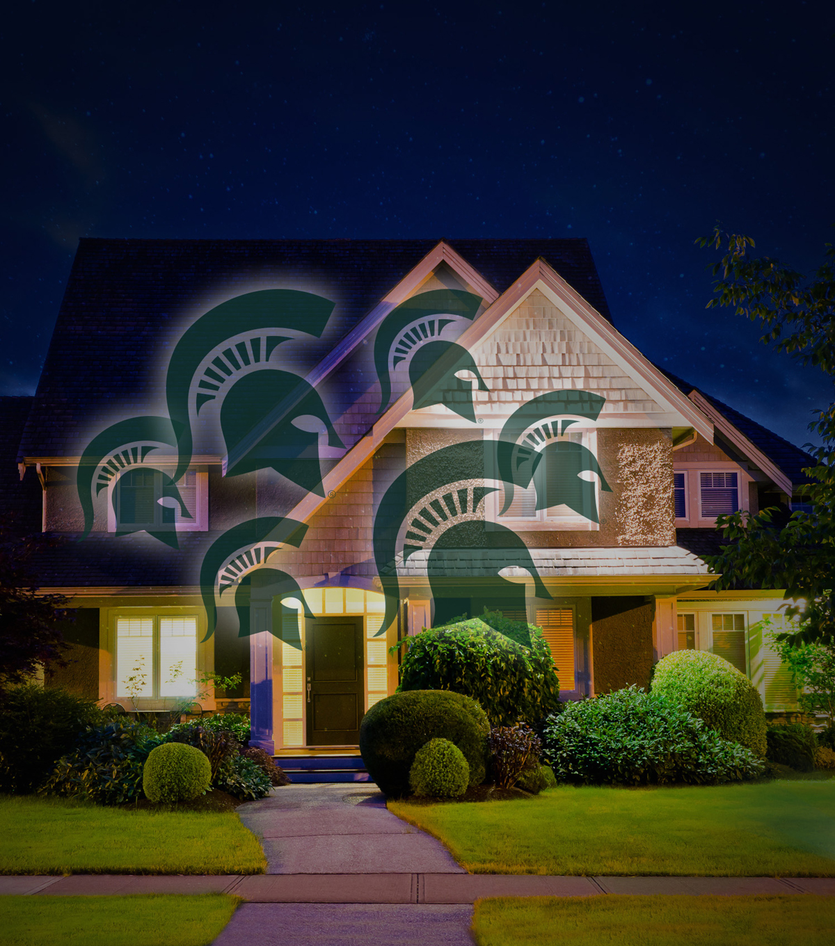 Michigan State University Spartans Team Pride Light