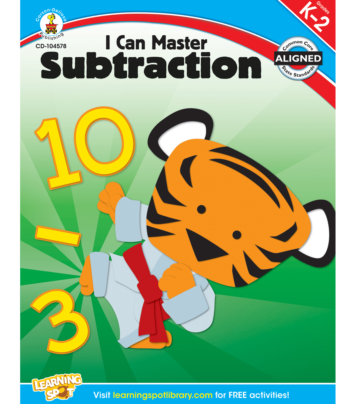 Carson-Dellosa I Can Master Subtraction Books