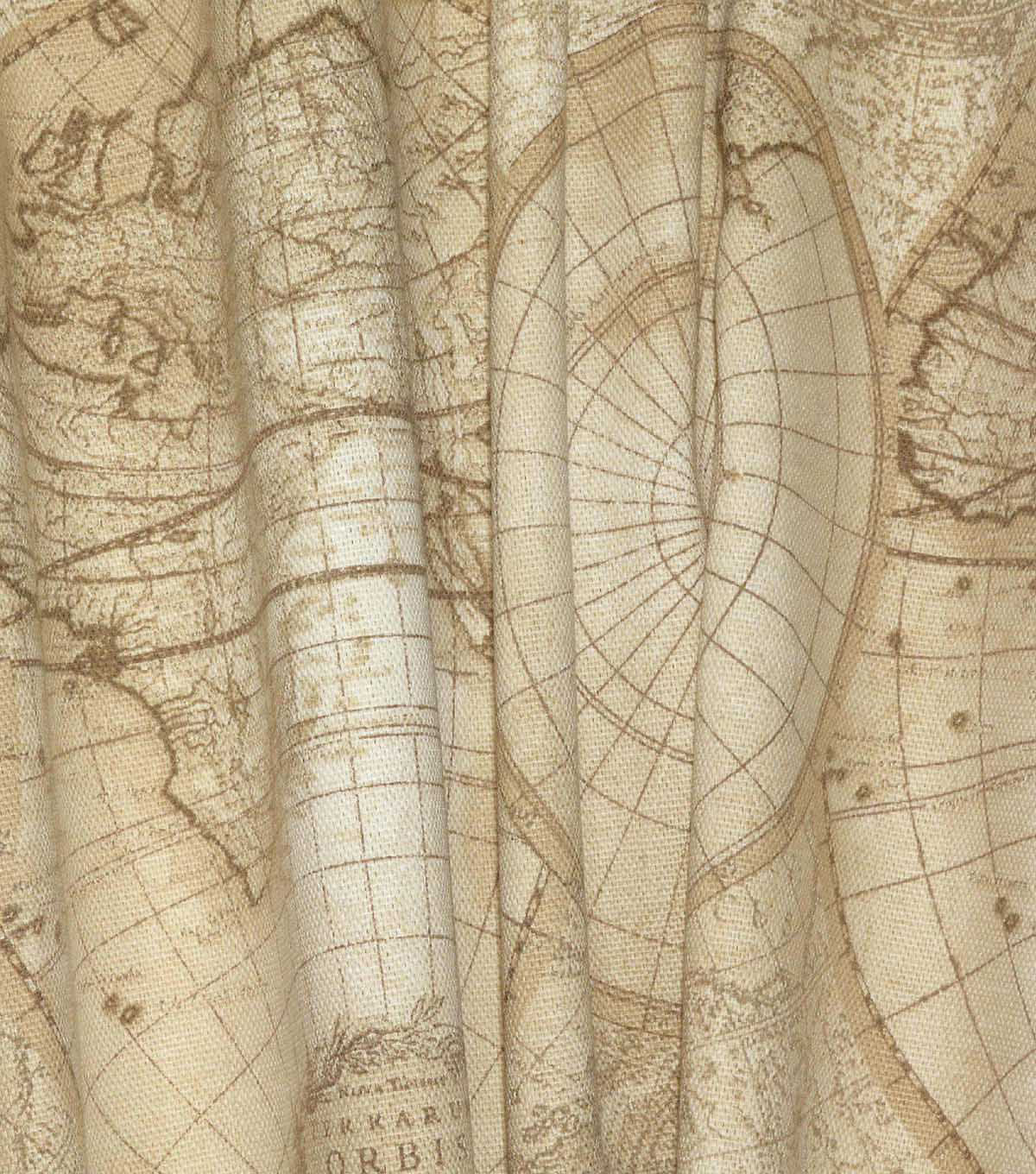Waverly Upholstery Fabric 54\u0022-Non-Stop Sandstone