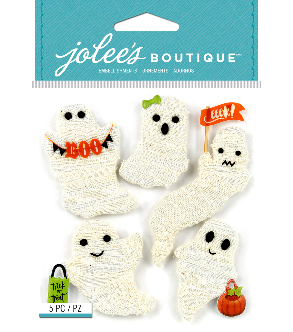 Jolee's Boutique® Stickers-Gauze Ghosts