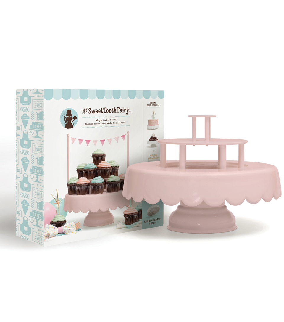 Sweet Tooth Fairy Magic Sweet Stand-Pink