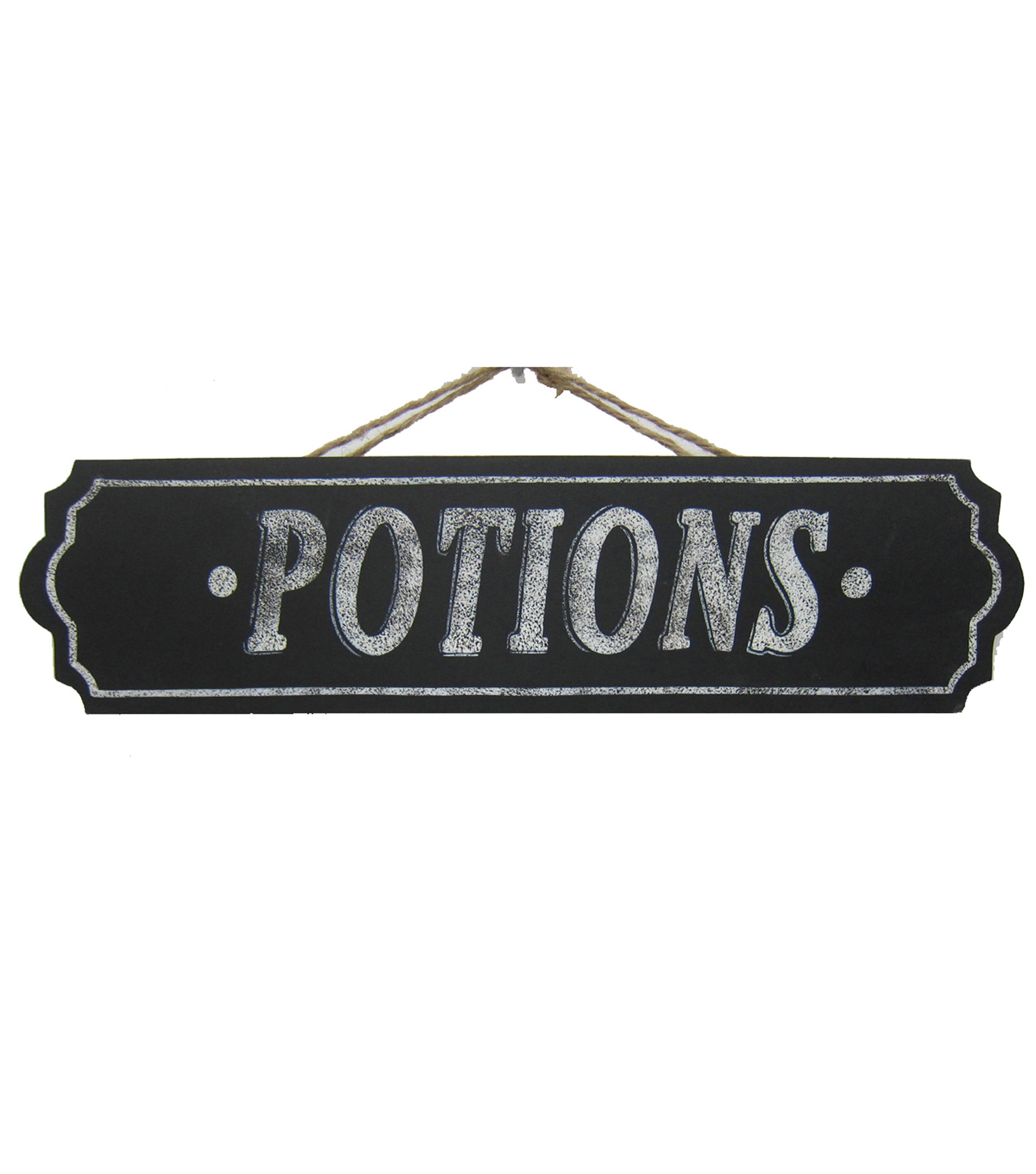 Maker's Halloween Wood Wall Sign-Potions