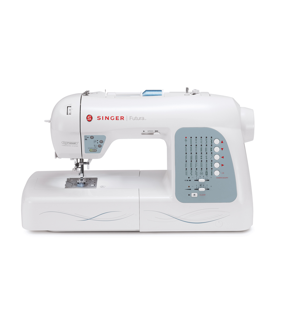 Singer® XL-400 Futura Sewing And Embroidery Machine
