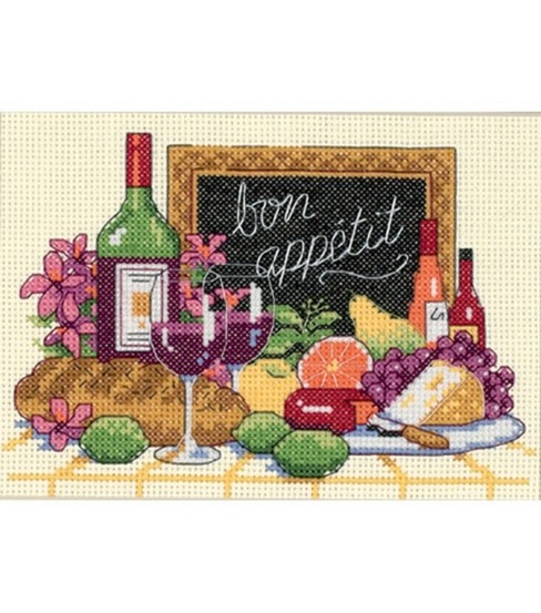 Dimensions Bon Appetit Mini Cntd X-Stitch Kit