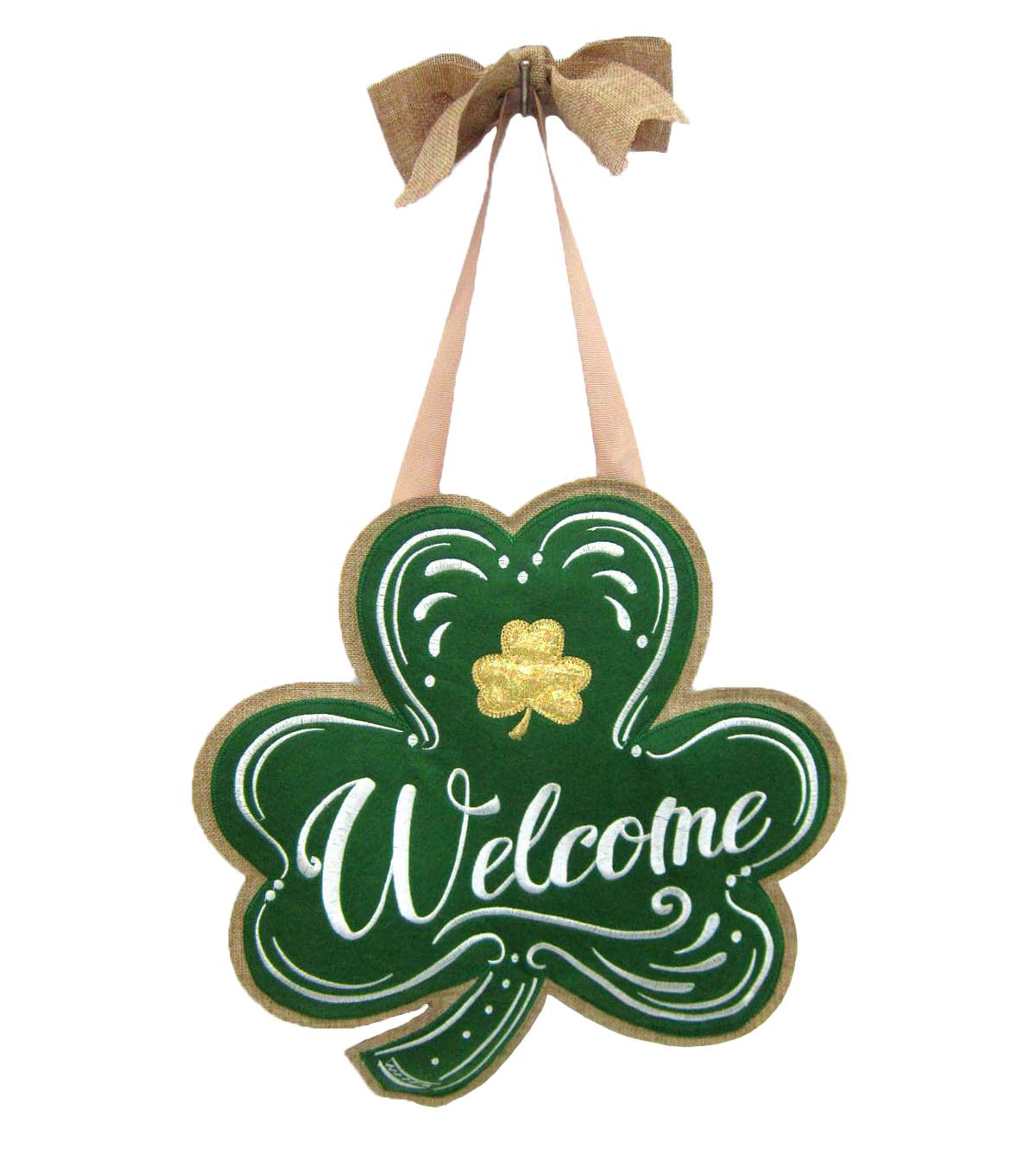 St. Patrick\u0027s Day Banner-Welcome