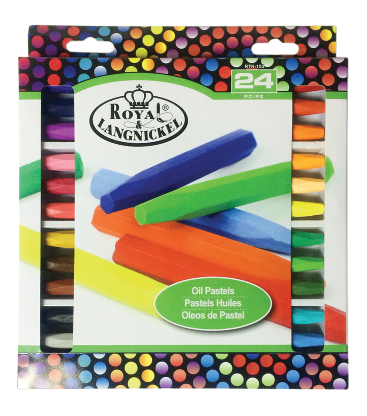 Royal Brush® 24pcs Oil Pastels