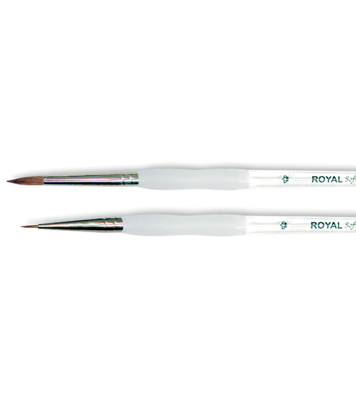 Royal Brush-Soft-Grip Pure Sable Detail & Round Brush-Size 0