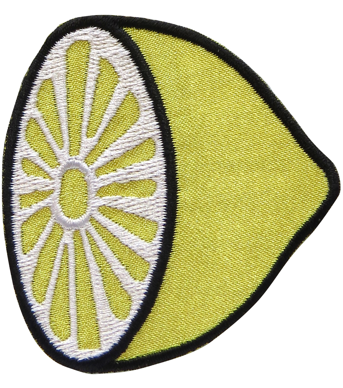 Simplicity® Embroidered Iron-On Applique-Lemon