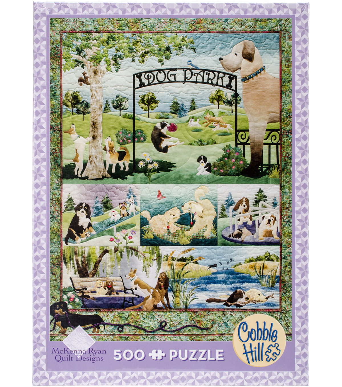 Jigsaw Puzzle 500 Pieces 24\u0022X18\u0022-Dog Park