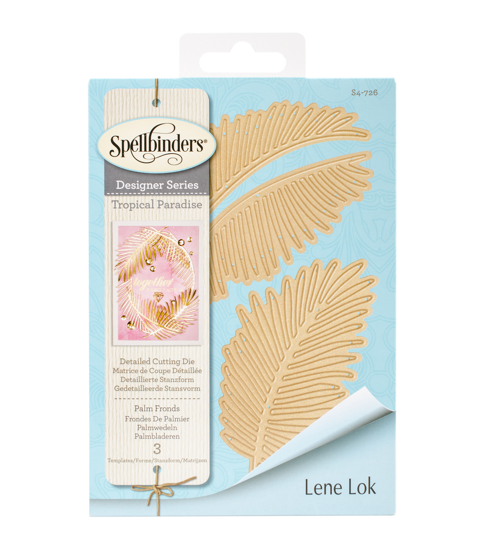 Spellbinders Shapeabilities 3 Pack Etched Dies-Palm Fronds | JOANN