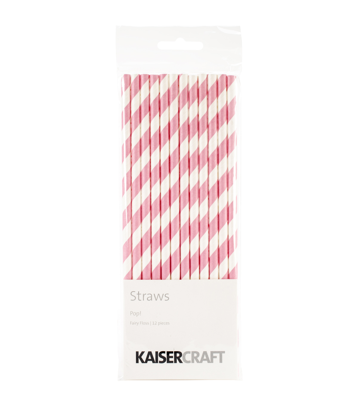 Kaisercraft-Pop! Straws 12/Pkg-Fairy Floss