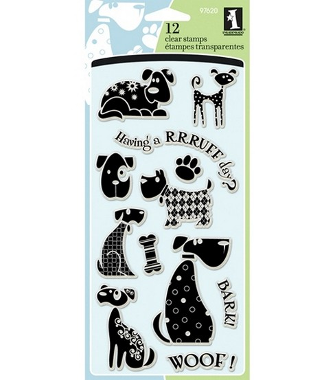 Inkadinkado Clear Stamps-Dogs