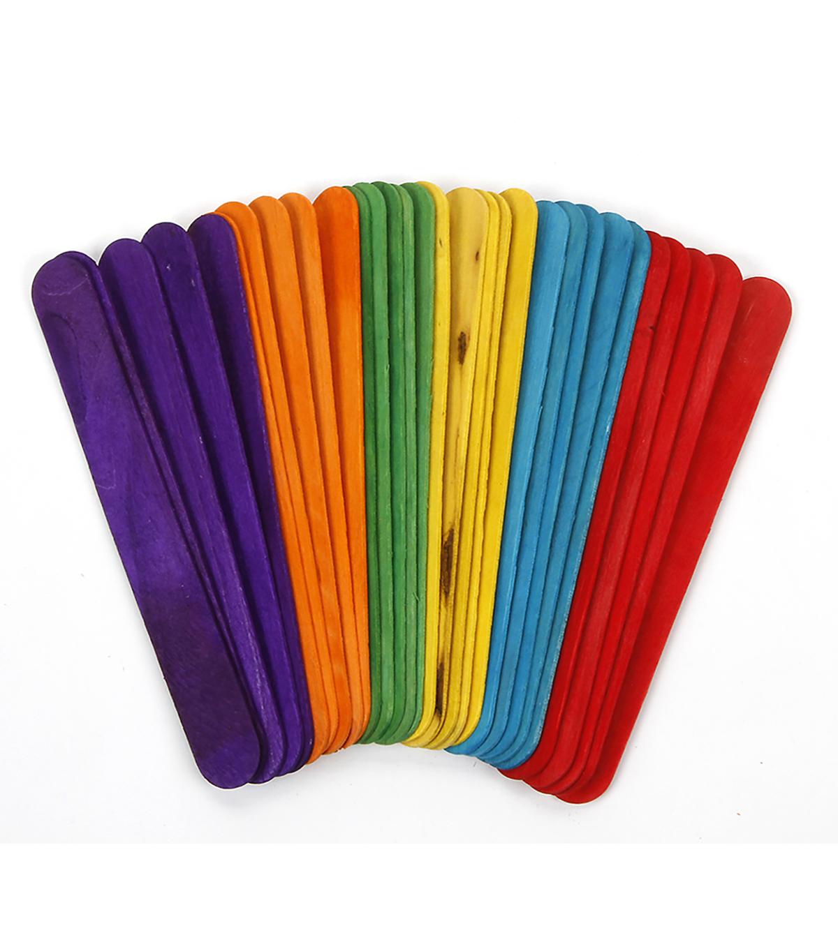 Jumbo Color Sticks 60pc