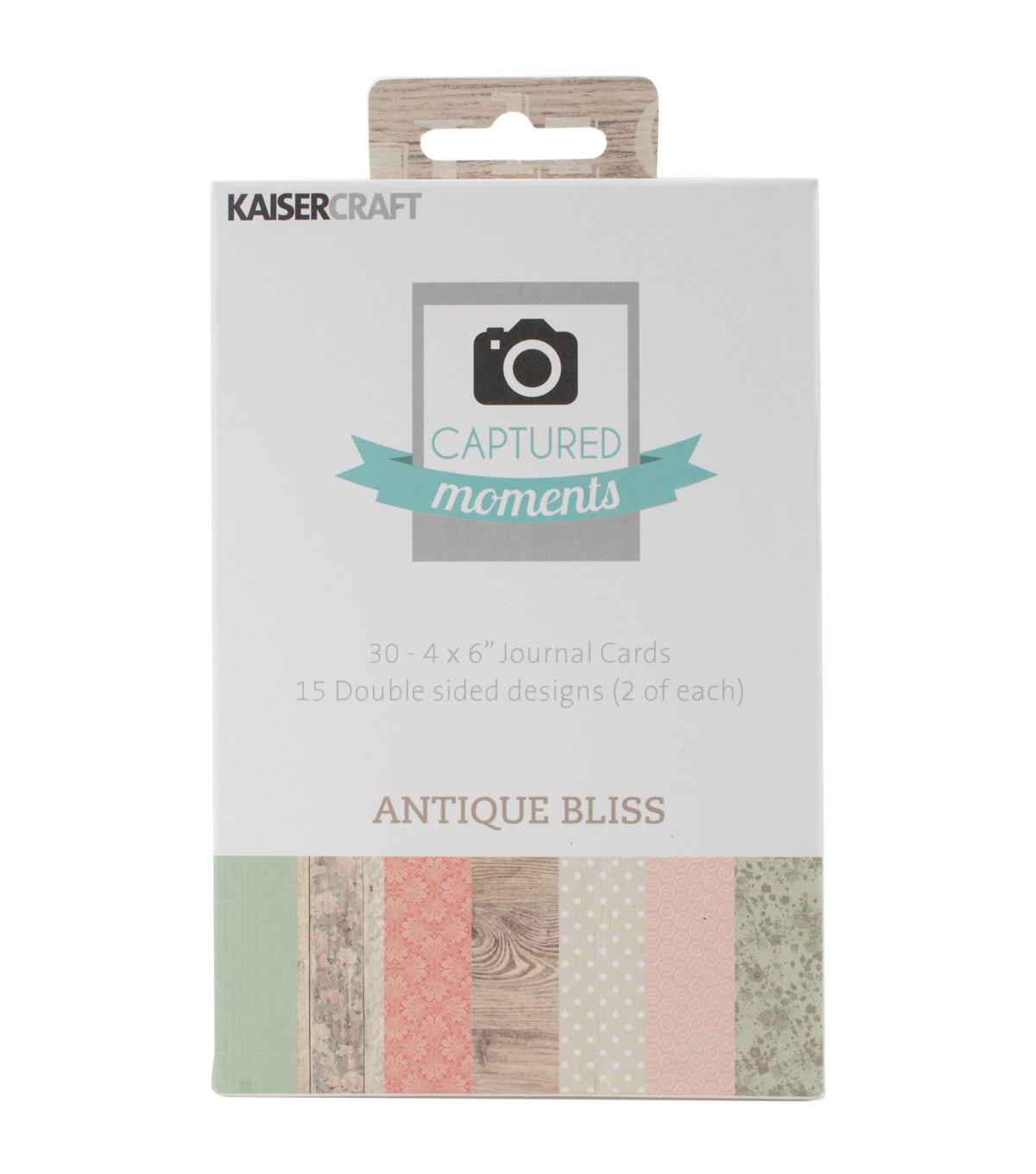 Captured Moments Double-Sided Cards 6\u0022X4\u0022 30/Pkg-Antique Bliss