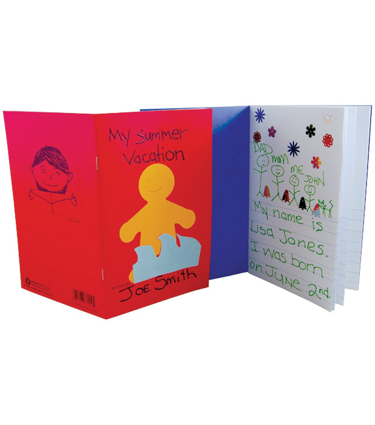 My Storybook 5-1/2\u0022X8-1/2\u0022 24 Pages-Assorted Colors