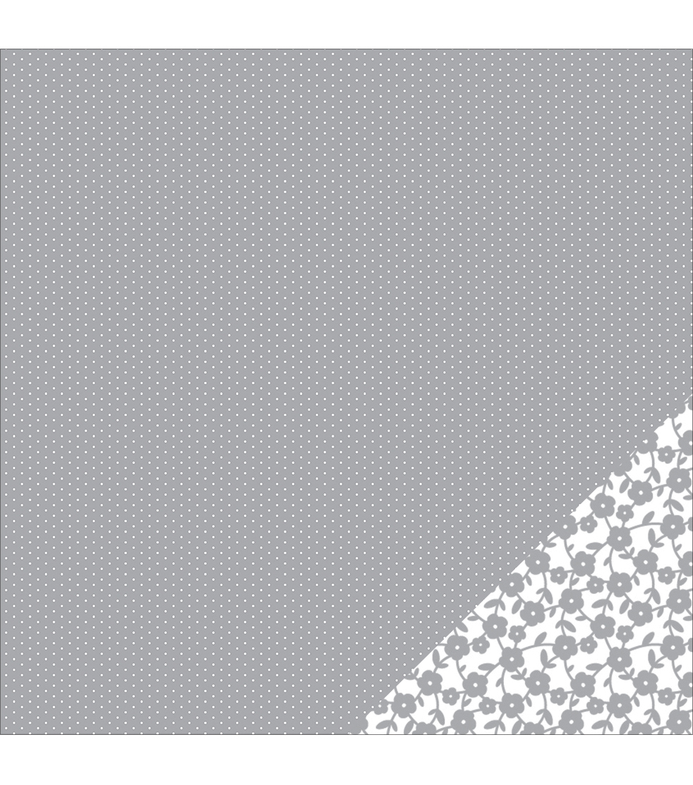 American Crafts Basics Tiny Dot Double-Sided Cardstock