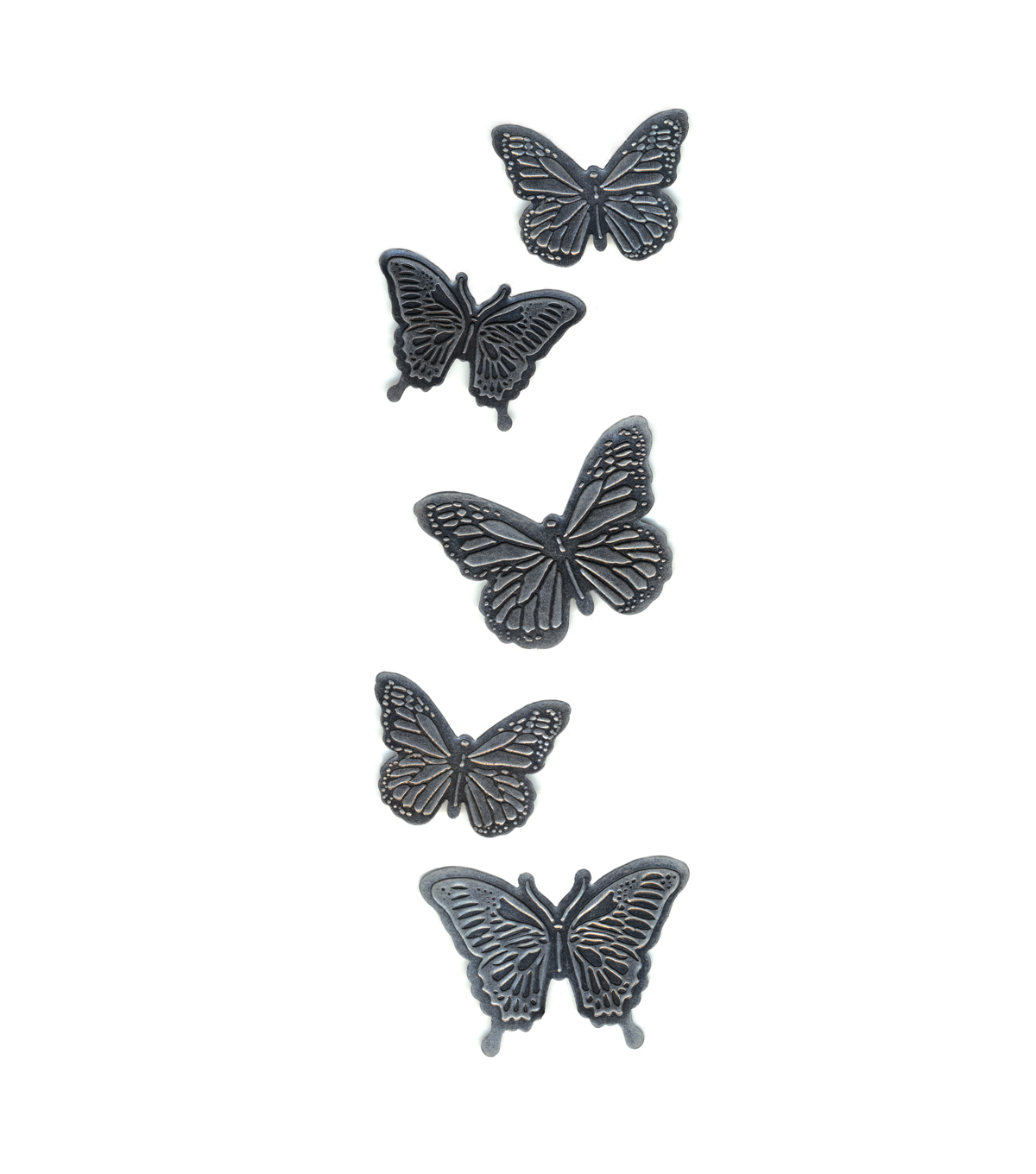 Metal Butterfly Stickers