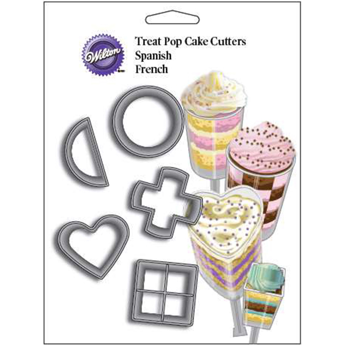 Treat Pop Cutter Set 5/Pkg
