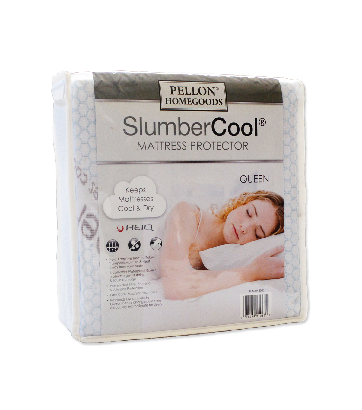Pellon® Slumber Cool Mattress Protector Queen 60\u0022 X 80\u0022